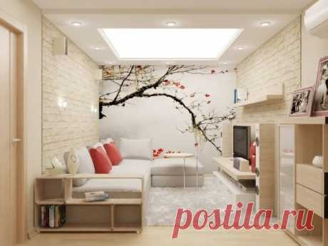 Дизайн гостиной комнаты в квартире: лучшие фото идеи красивого интерьера