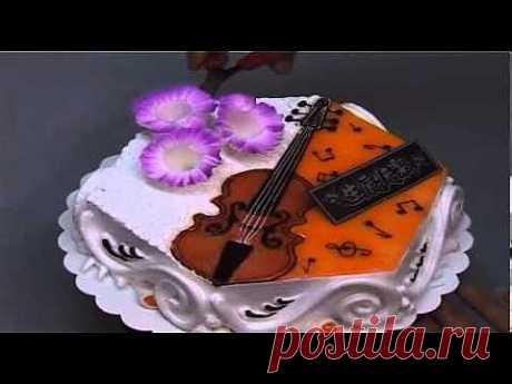 ▶ Украшение тортов 6 - YouTube