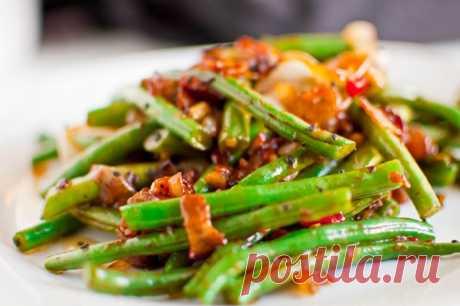 5 весенних рецептов теплых диетических салатов