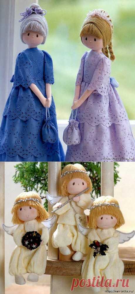 Отличный журнал по пошиву замечательных куколок.