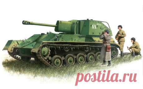 СУ-76 один из главных орудий СССР. | Мир оружия и войны | Яндекс Дзен