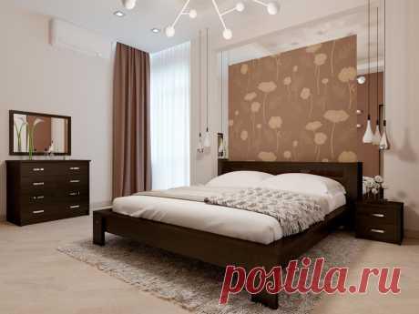 Купить кровать Сакура по лучшей цене в Киеве с доставкой по Украине - Magic Wood - интернет магазин