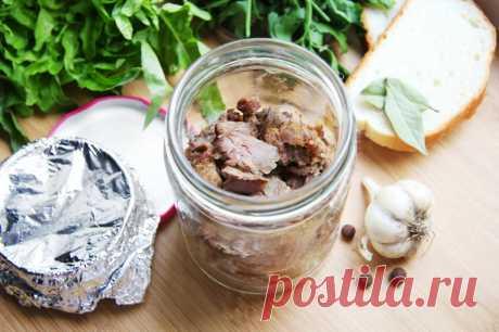 Тушенка из гуся домашняя рецепт с фото пошагово - 1000.menu