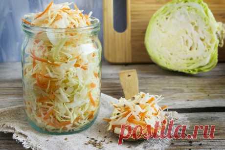 Рецепт квашеной в рассоле капусты: никогда не будет склизкой или мягкой   Дачные записки   Яндекс Дзен