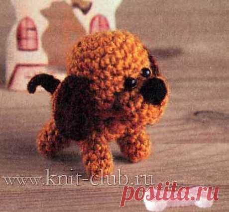 Собачка (вязание крючком)