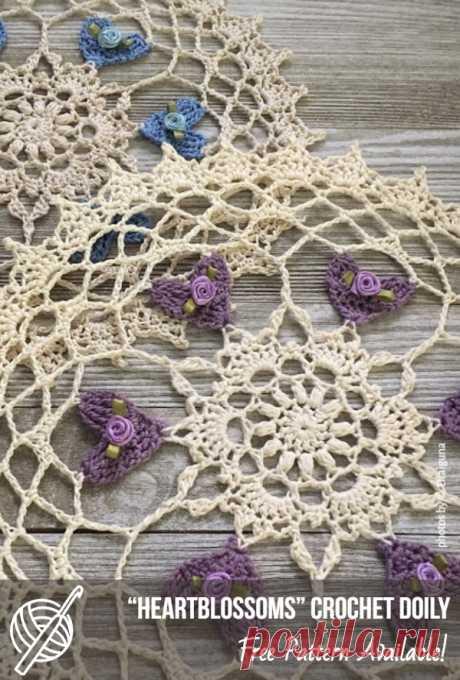 Adorable Crochet Doily Inspirations   Patterns Center #crochet #doilypattern #crochetdoily #freecrochetpattern #homedecor #homemade #crafts #crochetidea #crochetpatternsfree #crochetdoilypattern