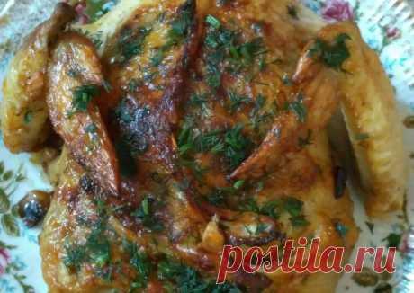 (19) Фаршированная курица - пошаговый рецепт с фото. Автор рецепта Аминат Лабазанова . - Cookpad