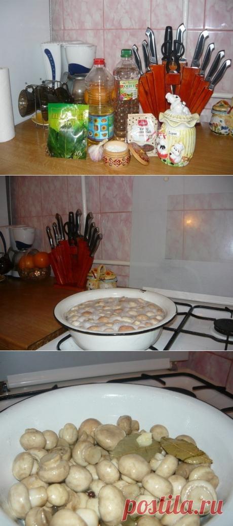 Как приготовить маринуйте грибы сами - рецепт, ингридиенты и фотографии