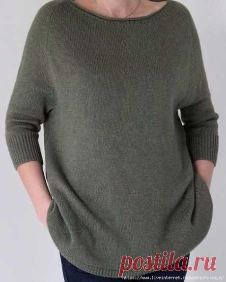 Как связать хэйворд  Если вы еще не связали себе стильную вещь для весны - самое время это сделать. (я уже месяца 2 вяжу)  Особенность этого пуловера - заниженная линия проймы и широкий низ. Этот пуловер смотрится прекрасно на разных типах фигур.   Вам понадобится  Пряжа - 500 г Спицы - 3-4 мм Маркеры для отметки количества петель  Инструкция 1 Измеряем окружность шеи - эта мерка снимается по ключицам, так так вырез у хейворда должен быть довольно широкий. Снимаем мерку по...