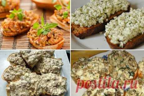 12 вкуснейших намазок на хлеб, которые утолят голод в два счёта! — Золотые Рецепты