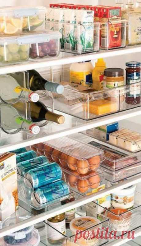 Благодаря этим идеям быстро навела на кухне идеальный порядок