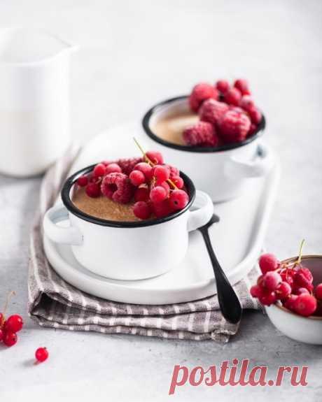 Домашнее кофейное мороженое