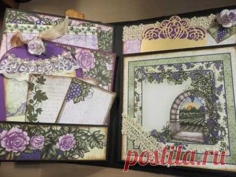 How To Tutorial Pt5 Heartfelt Creations Italiana Riviera Mini Album