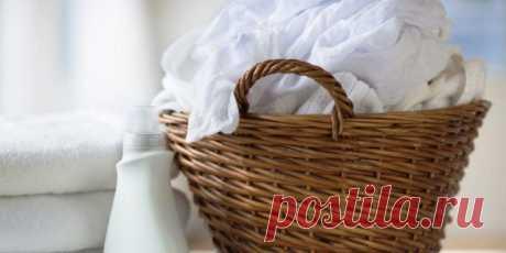 Как отбелить полинявшую вещь — Полезные советы