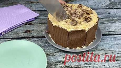 Торт Без Выпечки за 15 минут! Просто,быстро и вкусно