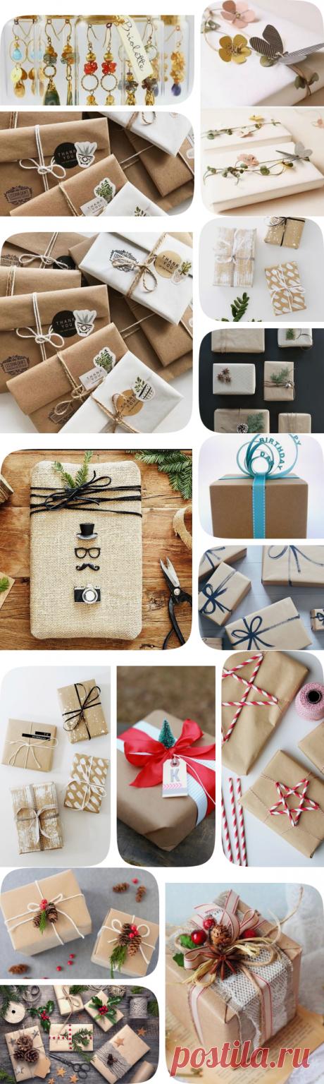 18 карточек в коллекции «Упаковка подарков: 20 волшебных примеров» пользователя kvartblog_ru в Яндекс.Коллекциях