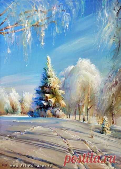 Зима в живописи: kolybanov — ЖЖ