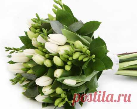 Букет из свежесрезанных цветов