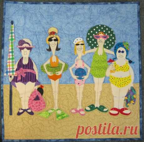 1000+ ideas about Amy Bradley bathing beauty quilt on Pinterest | patchwork