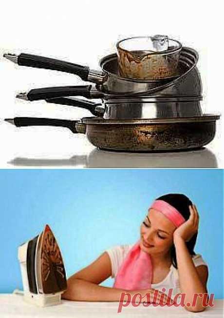 Как сделать кастрюли чистыми за 10 минут!