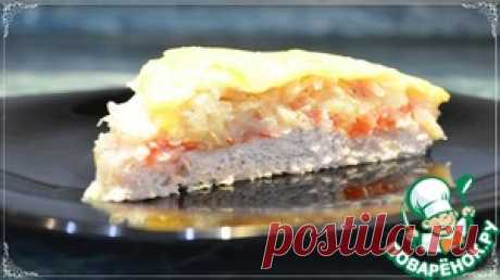 Овощная запеканка с куриным фаршем - кулинарный рецепт