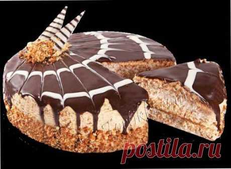 Торт новогодний «Грильяж» рецепт   Тортики
