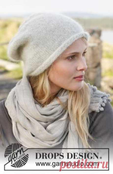 Шапка Готланд Простая шапка спицами для женщин, выполненная из двух видов тонкой шерстяной пряжи. Вязание модели осуществляется по кругу сначала на круговых...