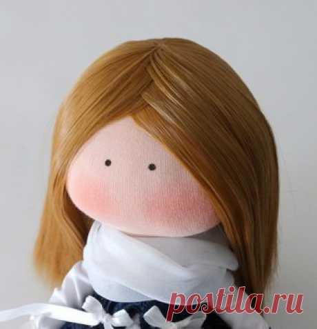 Причёска кукле