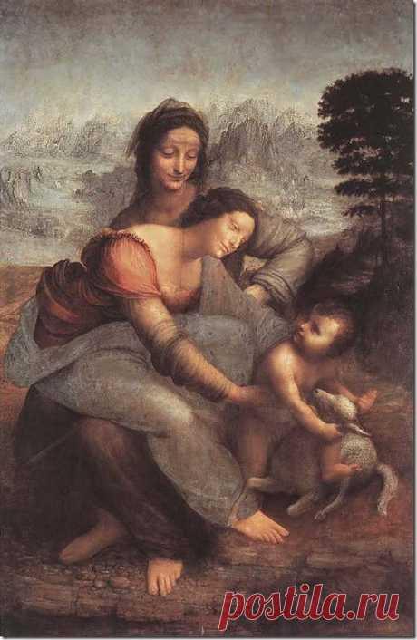 Дева Мария с ребёнком и Св.Анна