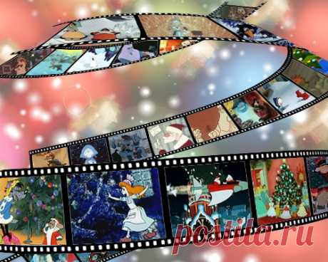 New Year's and winter animated films - 55 pieces.