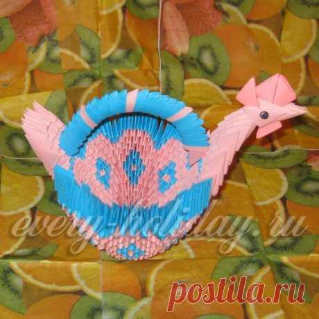 "Easter basket \""Chicken\"""
