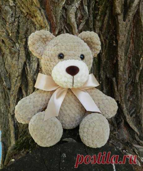 Мишка Ted амигуруми крючком | AmiguRoom
