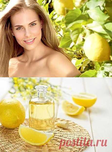 Лимон в домашней косметологии и не только (+видео)  