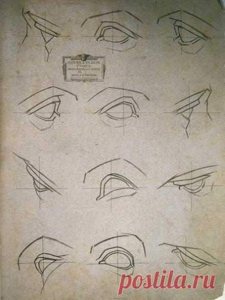 Учимся рисовать глаза Репост, чтобы не потерять