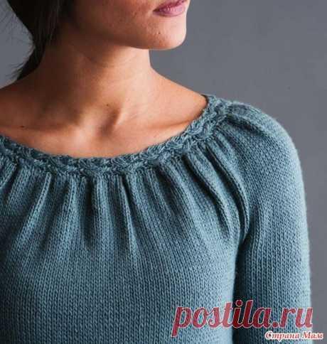 Блуза от дизайнера Katya Frankel.