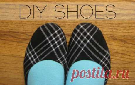 How to sew house-shoes the hands. The master - a class with patterns | Fashionable footwear