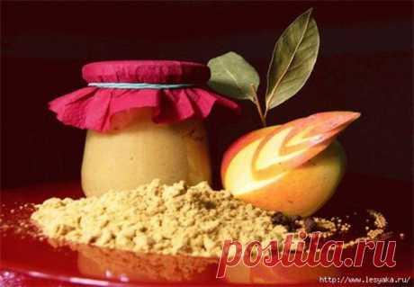 Потрясающая яблочная горчица - Женский сайт
