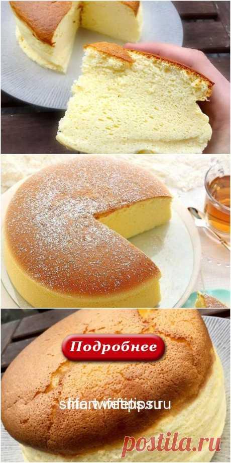 Японский пирог – получается невероятно вкусным, нежным и мягким! - life