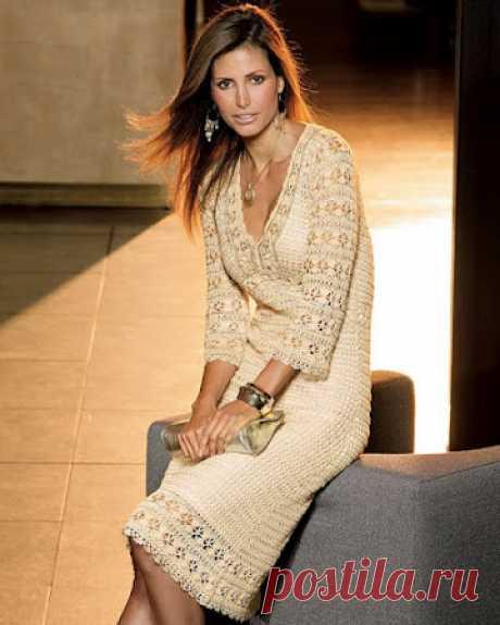 Нарядное платье от Karen Millen Так как нашлось много желающих связать это замечательное платье - открываем тему! Все фото по теме: Наши воплощения