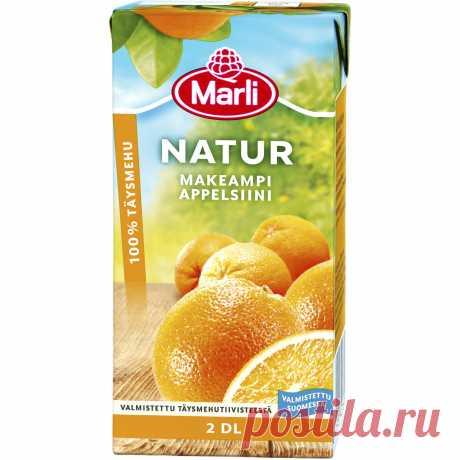 Апельсиновый сок 2 дл предпочтительно Tokmannilta