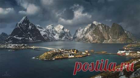 Новый день. Лофотенские острова, Норвегия. Автор фото – Дмитрий Купрацевич: