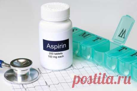 Аспирин для защиты сосудов: плюсы и минусы