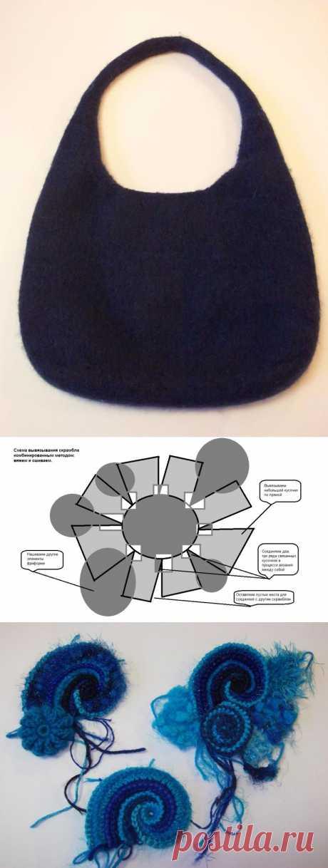 Сборка элементов фриформа в скрамбл комбинированным методом. - Ярмарка Мастеров - ручная работа, handmade