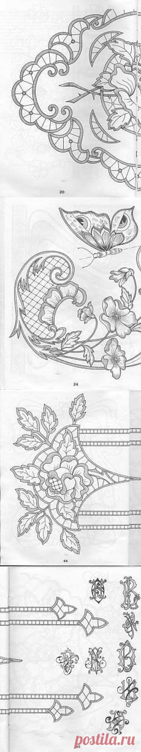 El BORDADO... La VAINICA... El BORDADO Richelieu... | Pinterest • el catálogo Mundial de las ideas