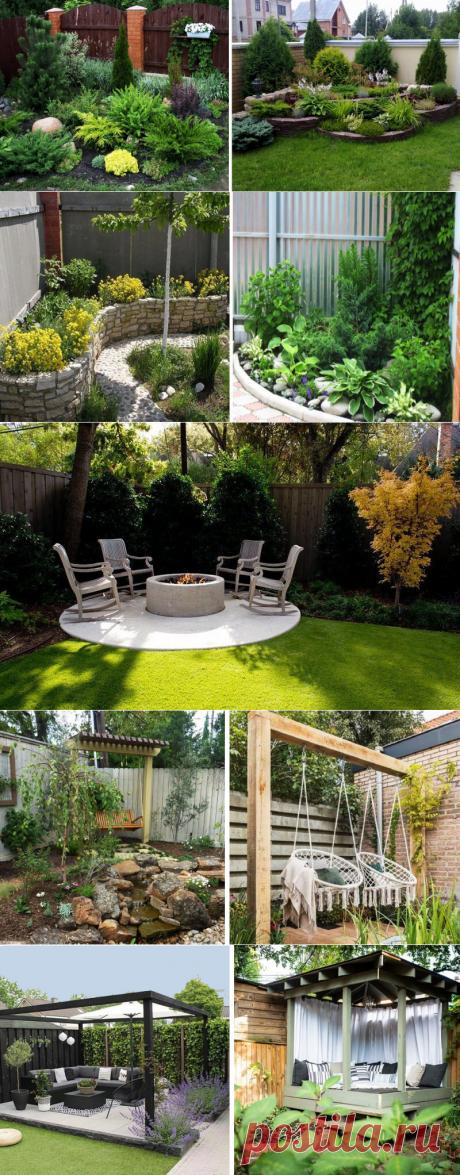 Как оформить углы дачного участка, чтобы создать гармоничное пространство: 7 вдохновляющих идей | Dream house | Яндекс Дзен