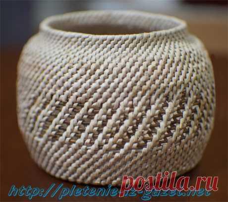 плетение из бумажной лозы - Поиск в Google