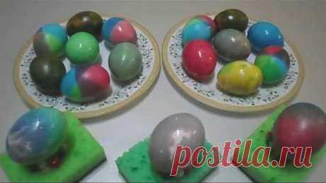 Красим яйца   5 способов красиво покрасить яйца на Пасху