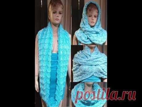Шапочки, шарфы и снуды, связанные спицами/ Каталог моих работ