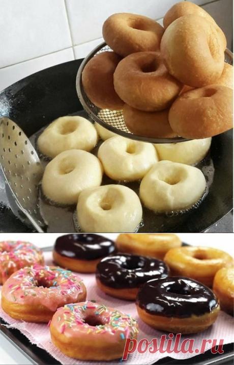 ПОНЧИКИ ВОЗДУШНЫЕ !!!   *Обалденные, мягкие, с хрустящей корочкой! Начинка любая, вкусно с инжировым повидлом, и  со свежей малиной с сахаром, или с заварным кремом...