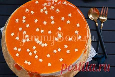 Муссовый торт с хурмой
